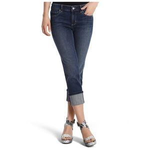 WHBM Blanc Cropped Jeans / Size 0